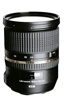 Tamron SP 24-70 mm F/2.8 Di VC USD - Objetivo para Nikon (Distancia Focal 24-70mm, Apertura f/2.8, estabilizador óptico, Macro, diámetro: 82mm) Negro (B007VAZB10) | Amazon price tracker / tracking, Amazon price history charts, Amazon price watches, Amazon price drop alerts