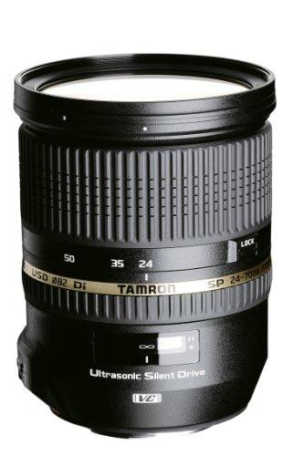 Tamron 24-70mm F/2,8 Weitwinkelobjektiv mit USD-Motor und Spritzwasserschutz für Sony schwarz