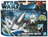 Unbekannt Star Wars 37746 Naboo Royal Fighter mit Obi-Wan Kenobi -