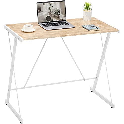 Aingoo Small Computer Desk PC Desk Office Desk Laptop Desk Writing Desk Computer Desk for Small...