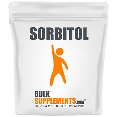 Bulksupplements.com Sorbitol Powder Low Calorie Keto Sugar Substitutes Sugar Free Powdered Sugar Artificial Sweeteners (100 Grams)