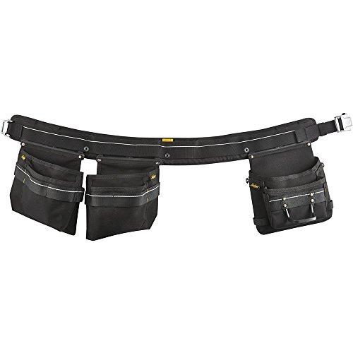 Snickers Workwear 9772 Handwerker Werkzeuggürtel, schwarz, L