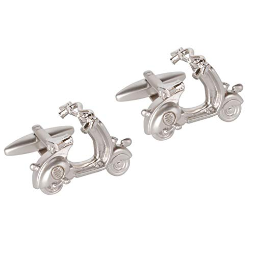 The Cufflink Store Gemelos Scooter cromados