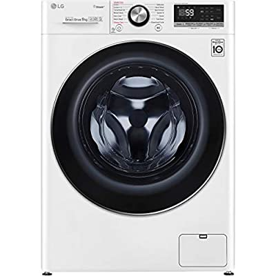 LG V7 F4V709WTS Wifi Connected 9Kg Washing Machine with 1400 rpm - White