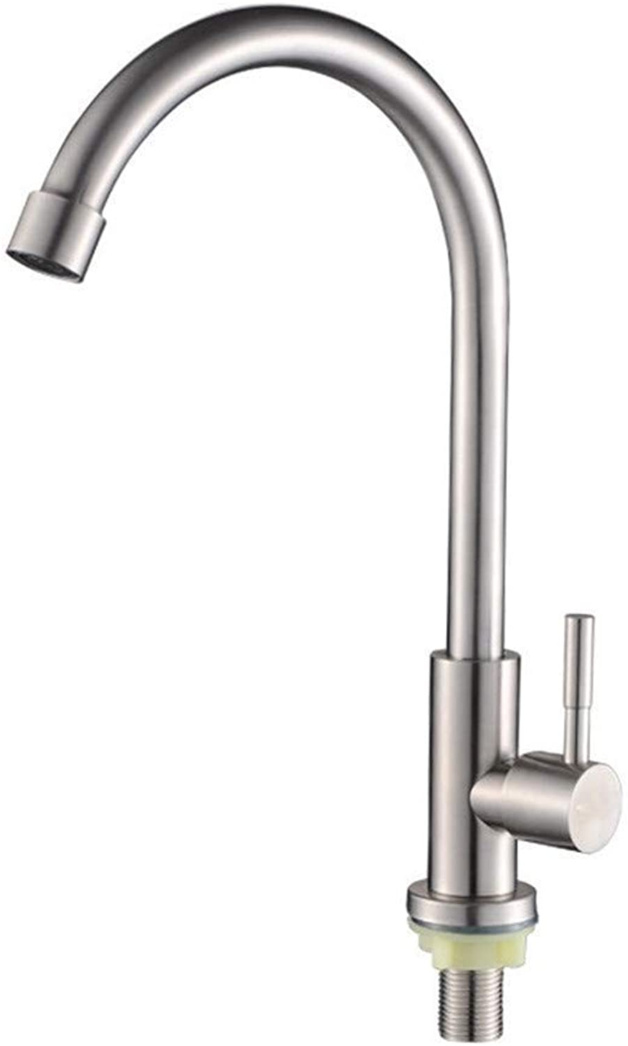 Brass Kitchen Modern Single Lever Kitchen Faucet Kitchen Faucet 304 Stainless Steel