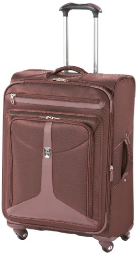 Find Bargain Atlantic Luggage Odyssey Lite Expandable Spinner, Burgundy, One Size