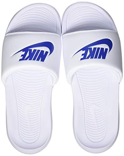 Nike VICTORI One Slide, Zapatillas Deportivas Hombre, White Game Royal White, 46 EU