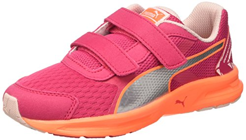 PUMA Descendant V3 V Kids, Jungen Laufschuhe Pink rosa