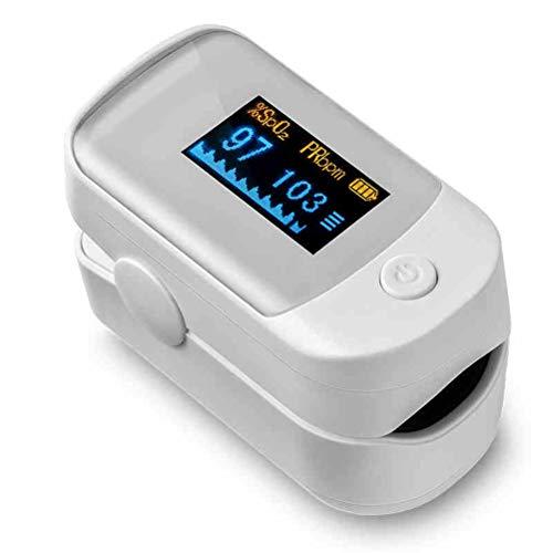 Pulsoxymeter Vingertop Bloed Zuurstofverzadiging Monitor slaapoximeters Hartslagmeter Roterend scherm Gebruik voor atleten Luchtvaart Senioren