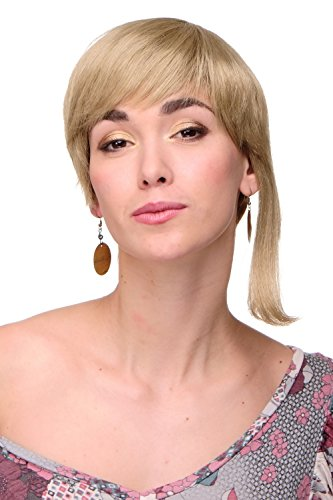 WIG ME UP - Perruque courte sexy dame longues mèches blondes WL-3035-24