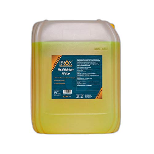 INOX® All Star Multireiniger, 5L - Universalreiniger für Textilien, Polster und Kunststoffe