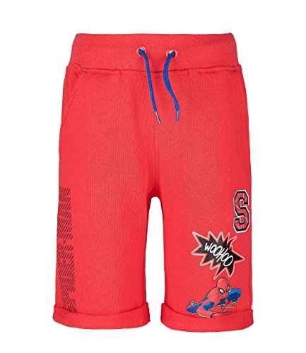 Spiderman Jungen Shorts - rot - 128