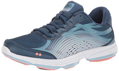 Ryka Women's Devotion Plus 3 Walking Shoe, Navy, 9 M US