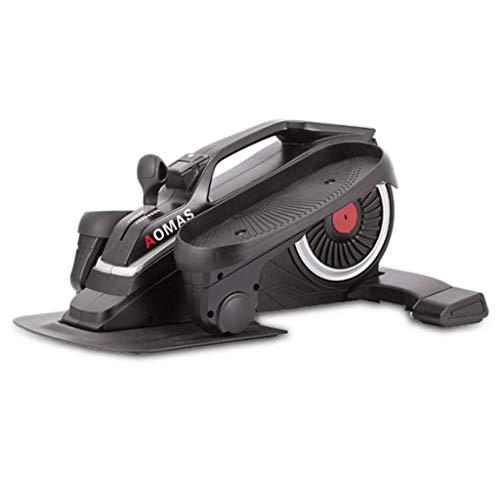T-Day Stepper Máquinas de Step Máquina de pérdida de Peso en el hogar Mudo Mini máquina elíptica Equipo de Gimnasia Multifuncional (Color : Black)