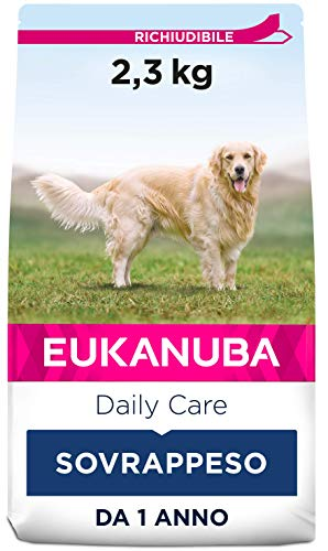 Eukanuba Daily Care Alimento Secco per Cani Adulti in sovrappeso e sterilizzati 2,3 kg