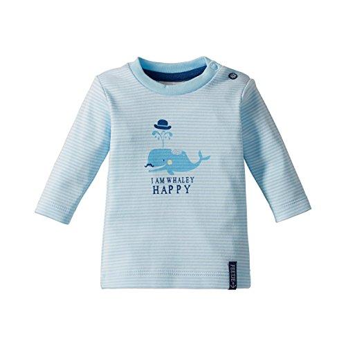 FEETJE Le T-shirt à manches longues top bébé vêtements bébé, taille 68, bleu ciel