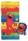 Sesame Street Lets Play Slumber Sack - Cozy & Warm Kids Lightweight Slumber Bag/Sleeping Bag - Featuring Elmo (Official Sesame Street Product)