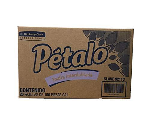 Toallas Interdobladas marca Petalo