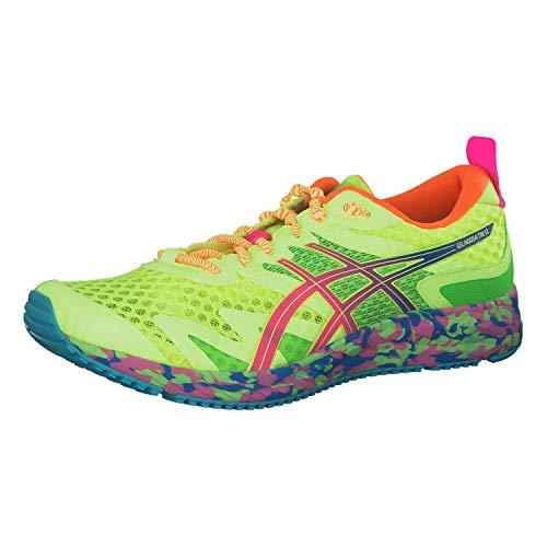 Asics Gel-Noosa Tri 12, Running Shoe for Men, Safety Yellow / Hot Pink, 45 EU