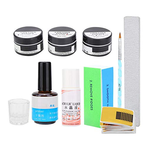 Nail Art Tool Kit, draagbare DIY-decoratie Manicure Set Extension Lijm Pen Cup Manicure Tools Kit voor gel nagellak(Nagelverlengset)