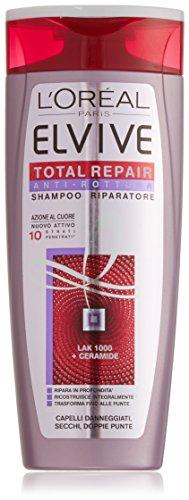 L'Oréal Elvive Total Repair Shampoo voor beschadigd haar, 250 ml