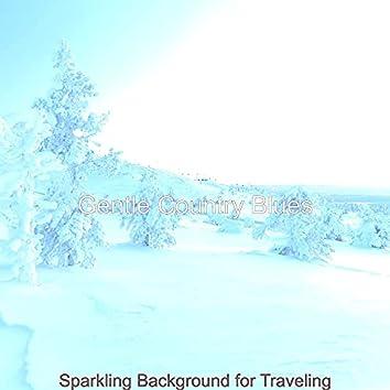 Sparkling Background for Traveling