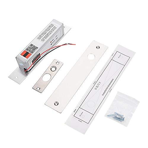Elektrisch slot, elektrisch insteekslot, grendelvergrendeling bij lage temperatuur, NC-modus voor toegangscontrole, superieur ontwerp bij lage temperatuur, veilig en duurzaam.