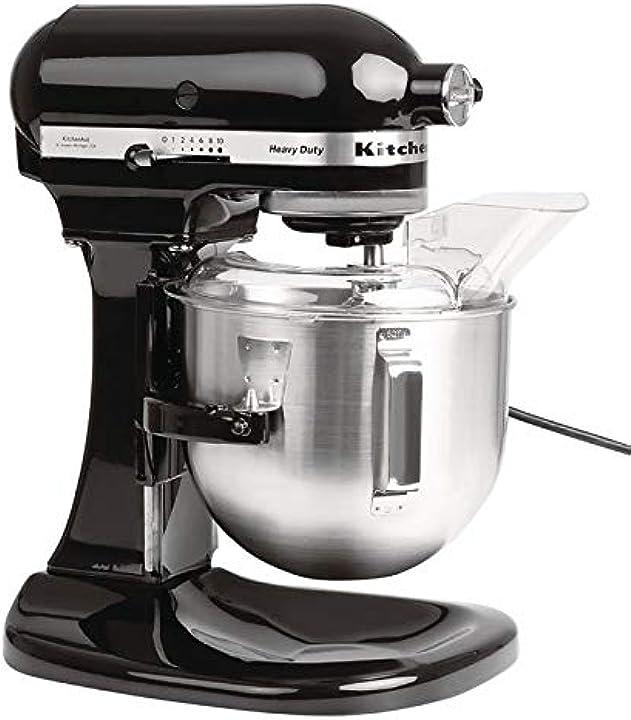 Robot da cucina heavy duty da 4,8 l 5kpm5 5kpm5bob, nero onice kitchenaid