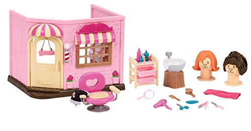 Li'l Woodzeez Baabaa Spa & Hair Salon Playset
