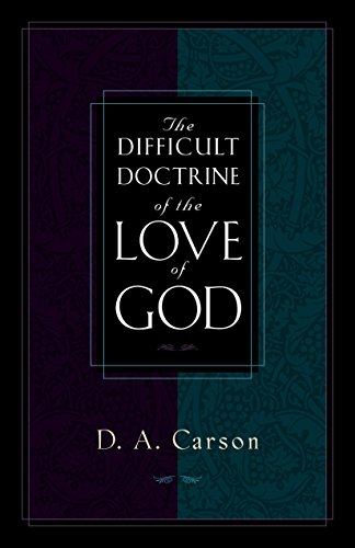 Image of The Difficult Doctrine of the Love of God