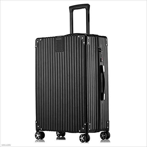 DABUOT 4-Wheel koffer, koffer 4 maten, handbagage reistas