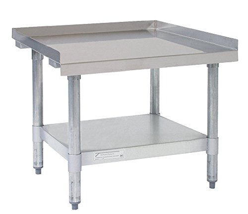 """Tarrison MS2424KD 16 Gauge Stainless Steel Top Budget Duty Knock Down Mixer Stand, 24"""" Length x 24"""" Height x 24"""" Depth"""