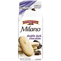 Box of 3, 7.5 ounce bags, perfect for stocking your pantry Luxuriously rich dark chocolate sandwiched between 2 crisp, exquisite cookies Double Dark Chocolate flavor Baked with no artificial flavors or preservatives About 8 servings per bag, about 24...