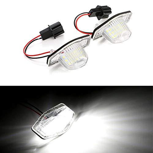 Yijueled LED Matrícula para Odyssey CRV FRV