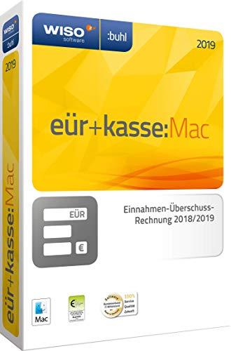 WISO eür+kasse:Mac 2019: Für die Einnahmen-Überschuss-Rechnung 2018/2019 inkl. Gewerbe- und Umsatzsteuererklärung | Mac