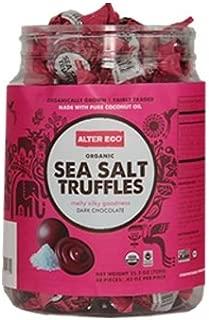 Alter Eco Americas Organic Truffles, Sea Salt, . 60 Count