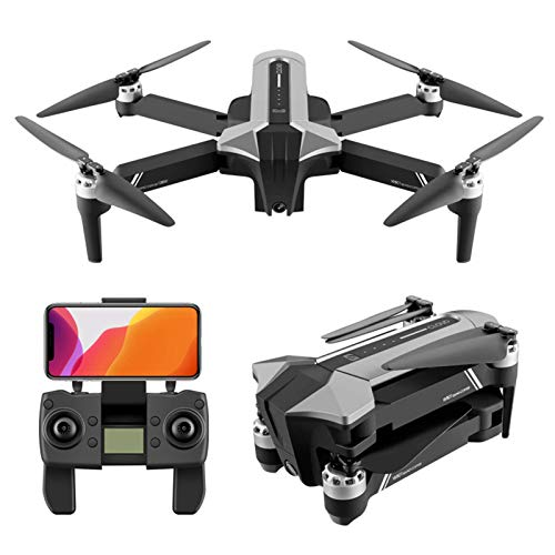 LDDZB GPS Drone con cámara de 4k 40 Millones de píxeles UHD para Adultos, 5.8GHz FPV Video en Vivo RC Quadcopter, 1640FT Imagen Transmissio, Motor sin escobillas, 30 Minutos Tiempo de Vuelo