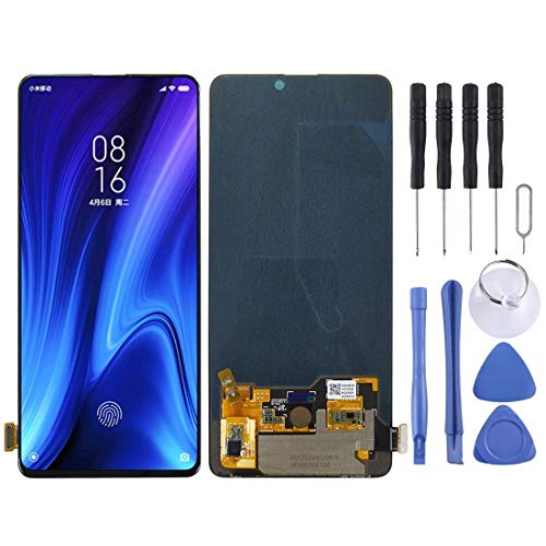 GBHGBH OLED Pantalla LCD Material y digitalizador Asamblea Completa for Xiaomi redmi K20 Pro / K20 / Mi 9T / Mi 9T Pro (Color : Black)