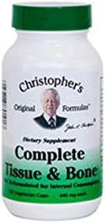 Complete Tissue and Bone Formula Dr. Christopher 100 VCaps 440 MG Each