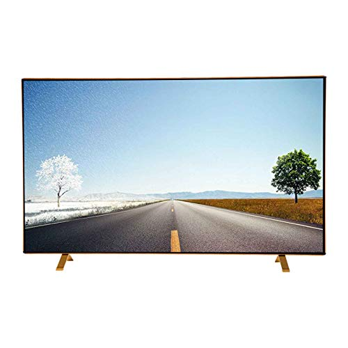 yankai Televisor Smart TV LED,4K Internet TV,(32 Pulgadas / 39/43/50/55/58),Vidrio a Prueba de Explosiones,WiFi,Interfaz Múltiple,Montado en La Pared Y Colocable