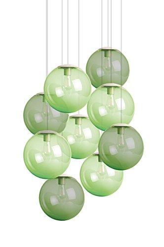 Fatboy® Spheremaker 9er Hängelampe 5X Light Green / 4X Green