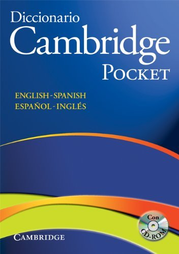 Diccionario Bilingue Cambridge Spanish-English with CD-ROM Pocket Edition by Not Available (2008-06-23)