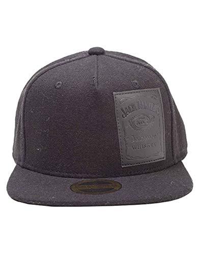 Unbekannt Jack Daniels Baseball Cap Woven Bottle Logo offiziell Schwarz Strapback
