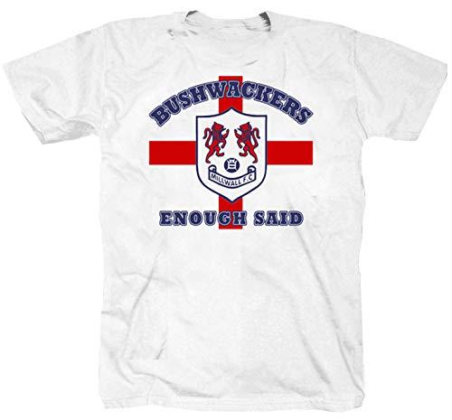 Bushwackers London Football Weiss T-Shirt (M)