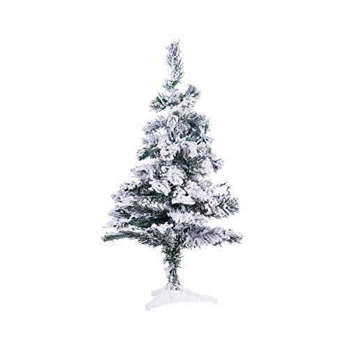 Perfect Holiday Christmas Tree, 2', Flocked Snow