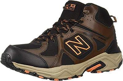 New Balance Men's 481 V3 Mid-Cut Hiking Shoe, Adrift/Black, 11 XW US