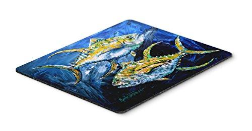 Price comparison product image Caroline's Treasures MW1125MP Fish - Tuna Tuna Blue Mouse Pad,  Hot Pad or Trivet,  Large,  Multicolor