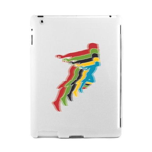 Proporta Cover per iPad 2 - Design Runner - Custodia Rigida Posteriore