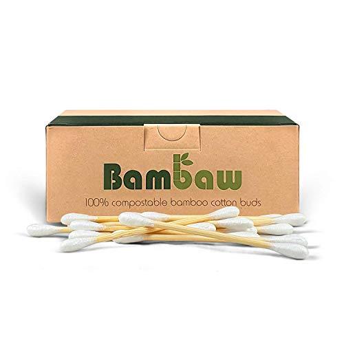 Bastoncillos para Oídos de Bambú | Bastoncillos Ecológicos | Palillos...