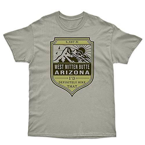Arizona Tshirt for Hiking Gift Compatible with West Mitten Butte 5597 ft